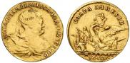 Token Coin 1739 year