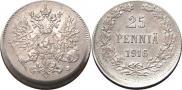 25 pennia 1916 year