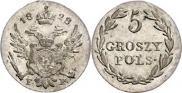 5 groszy 1828 year