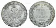 3/4 рубля - 5 злотых 1835 года