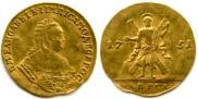 1 червонец 1751 года