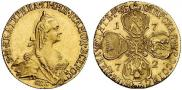5 roubles 1772 year