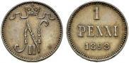 1 пенни 1898 года