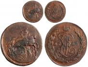 1 kopeck 1763 year
