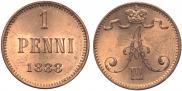 1 пенни 1888 года