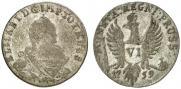 6 грошей 1759 года