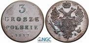 3 гроша 1817 года