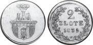 2 злотых 1835 года