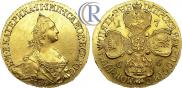 5 roubles 1766 year