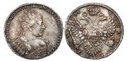 1 rouble 1734 year