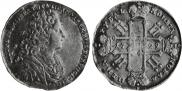 1 рубль 1729 года