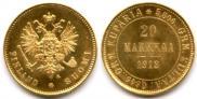 20 markkaa 1912 year