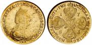 5 roubles 1783 year