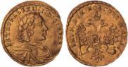 1 червонец 1716 года