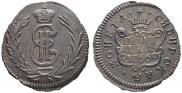 Полушка 1766 года