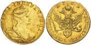 1 червонец 1738 года
