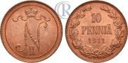 10 пенни 1911 года