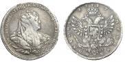 Полтина 1737 года