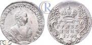 Grivennik 1748 year