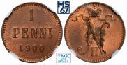 1 penni 1900 year