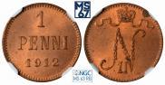 1 пенни 1912 года