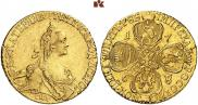 5 roubles 1768 year