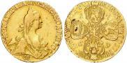 5 рублей 1769 года