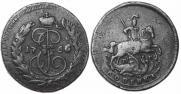 1 kopeck 1766 year