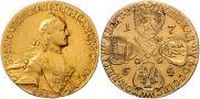 10 рублей 1764 года