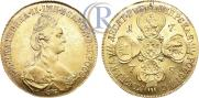 10 roubles 1778 year