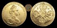 10 рублей 1778 года
