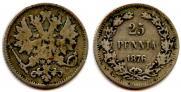 25 pennia 1876 year