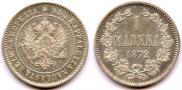 1 марка 1872 года