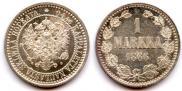 1 марка 1866 года