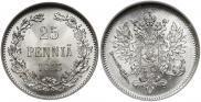 25 pennia 1913 year