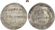 2 злотых 1813 года