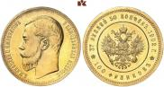 37,5 рублей - 100 франков 1902 года