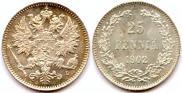 25 pennia 1902 year