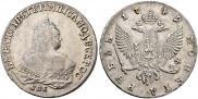 1 рубль 1749 года