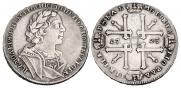 1 рубль 1725 года