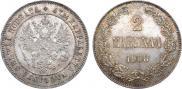 2 markkaa 1908 year