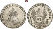 6 groszy 1761 year