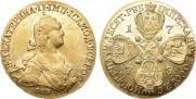 10 рублей 1775 года