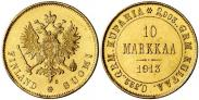Монета 10 марок 1904 года, , Золото