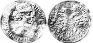 Монета Жалованная монета 1703 года, 9 ФЕВРАЛЯ, Золото