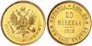 Монета 20 марок 1904 года, , Золото