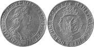 Монета Полтина 1699 года, Пробная, Серебро