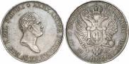 Монета 5 злотых 1818 года, Пробные, Серебро