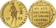 Монета Дукат 1831 года, Польское восстание, Золото