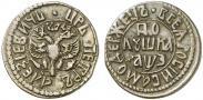Монета Полушка 1707 года, , Медь